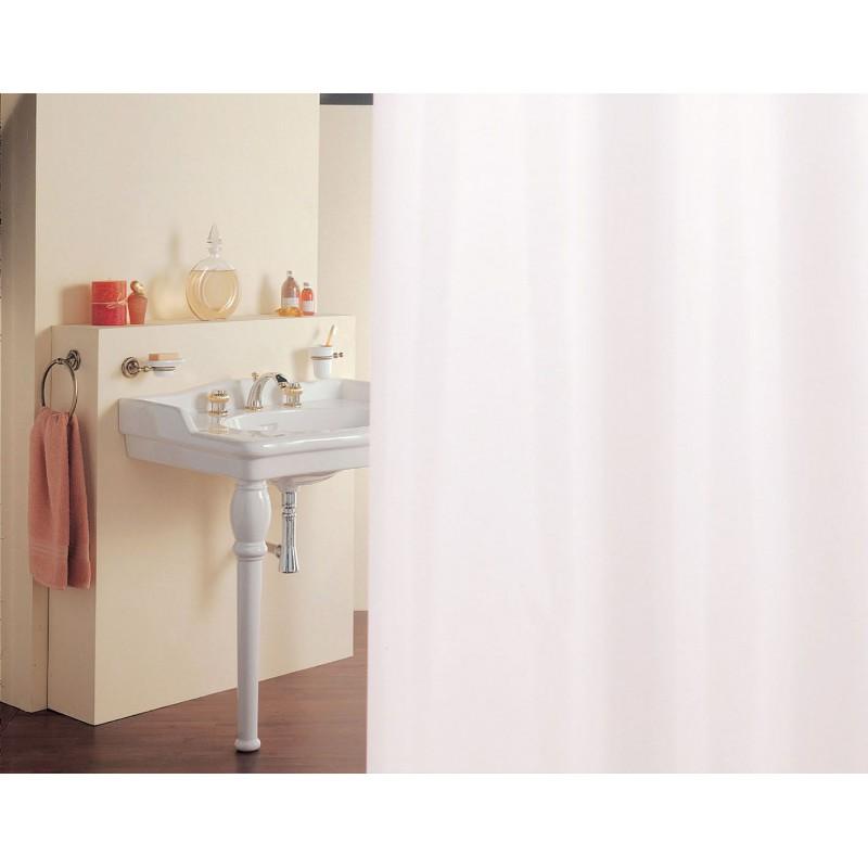 Rideau de douche satin 120 x 200 cm manusec for Rideau de douche plombe