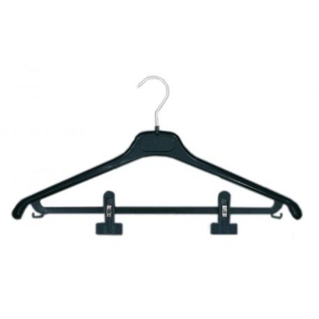 cintre combin pinces en plastique 120 pcs mcfe45p h tels coll. Black Bedroom Furniture Sets. Home Design Ideas