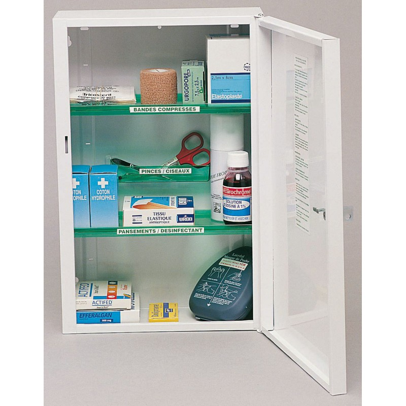 armoire pharmacie clinix 1 porte r11649 h tels collectivit s. Black Bedroom Furniture Sets. Home Design Ideas