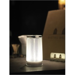 LUMINAIRE PLISEE GLITTER POUR TABLE (+CHARGEUR+ADA)