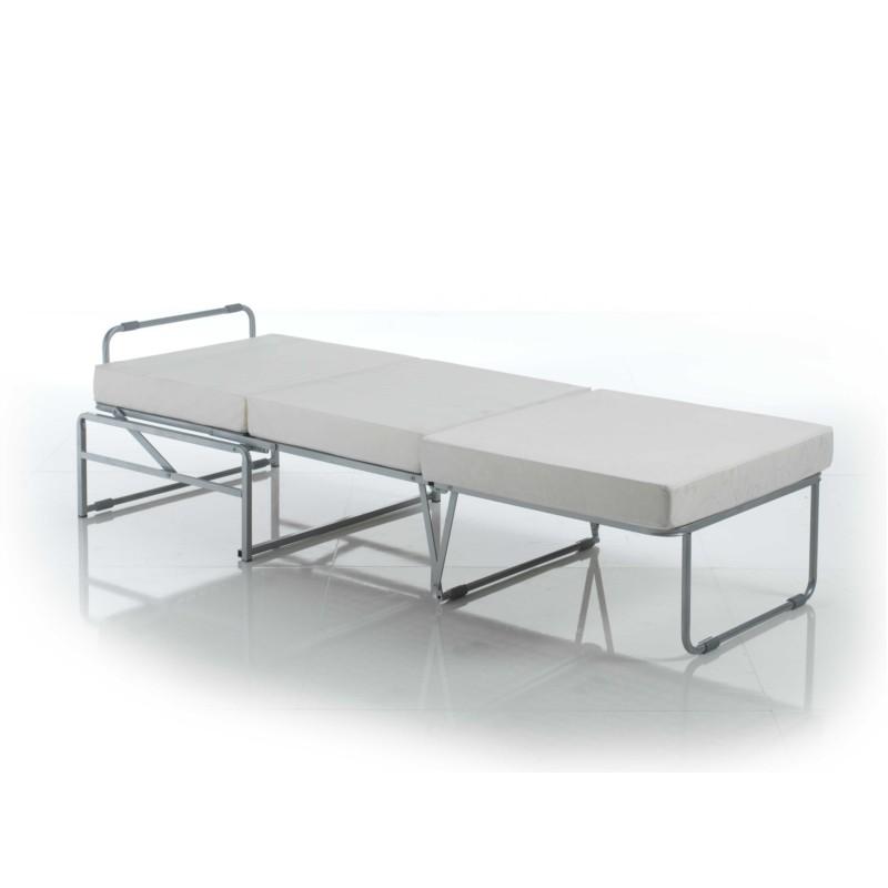 pouf convertible lit 70 sans passepoil tissu kenya m000225 ak h t. Black Bedroom Furniture Sets. Home Design Ideas