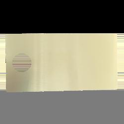 Plateau Courtoisy® Dibond GOLD