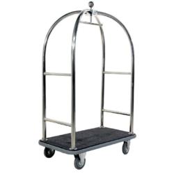 Chariot à bagages - Style cage d'oiseau