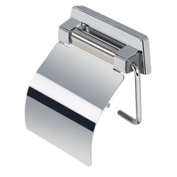 PORTE-PAPIER ROULEAU SIMPLE LAITON CHROME COLLECTION HOTEL