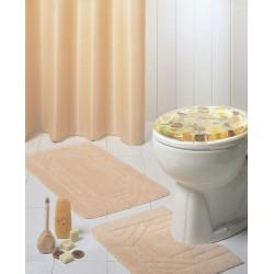 Rideau de douche/baignoire Emaux (180 x 180 cm)